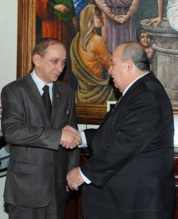 O presidente Guerreiro Júnior está dando total apoio ao trabalho do desembargador Lourival Serejo
