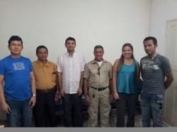 Juiz e integrantes do Conselho da Comunidade em São Bernardo