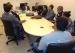 Partes da ação civil pública conversam com o juiz da 5ª Vara da Fazenda Pública