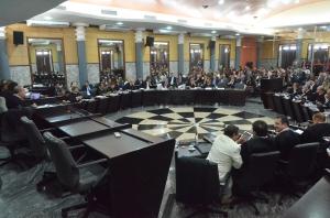 Os advogados Ricardo Duailibe, Daniel Leite e Riod Ayoub foram os mais votados  (Foto: Ribamar Pinheiro)