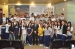 Estudantes das escolas São Marcos e Invictus na palestra sobre os 200 anos do TJMA