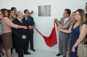 O novo prédio do Juizado foi inaugurado pelo presidente do TJMA, Guerreiro Júnior, e pelo Corregedor-Geral, Cleones Cunha (Foto: Ribamar Pinheiro)