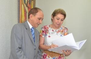 A presidente do TJMA elogiou o trabalho da Ouvidoria (Foto:Ribamar Pinheiro)