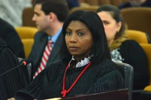 A desembargadora Ângela Salazar é a presidente da Coordenadoria da Mulher em Situação de Violência Doméstica e Familiar do TJMA (Foto: Ribamar Pinheiro)