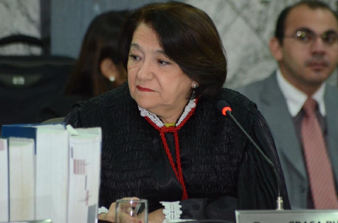 Maria das Gra�as Duarte foi a relatora do processo (Foto:Ribamar Pinheiro)