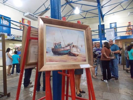 A galeria da 6� edi��o do projeto cultural contou com exposi��es de artes pl�sticas, fotografias e poesias
