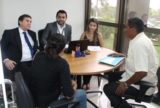 Audi�ncia aconteceram no Centro de Concilia��o - Foto NucleoComF�rum