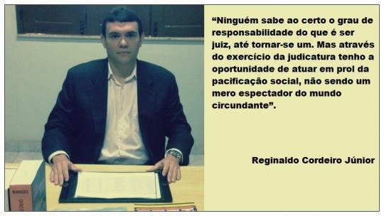 Juiz Reginaldo Cordeiro J�nior
