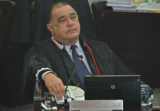 No plant�o, o desenmbargador Jorge Rachid receberer� apenas as demandas de car�ter urgente