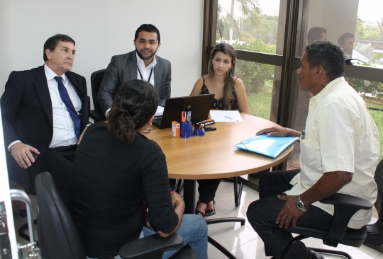 Foto divulgação: Audiência de conciliação