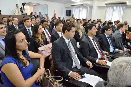 O Curso de Forma��o de Magistrados � a �ltima etapa do concurso para o cargo de juiz substituto do TJMA (Foto:Ribamar Pinheiro)