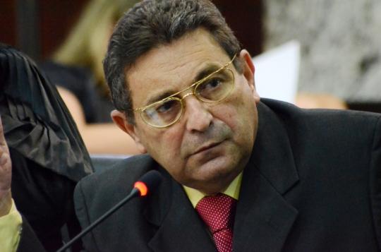 O dersembargador Bayma Ara�jo foi o relator do processo (foto:Ribamar Pinheiro)