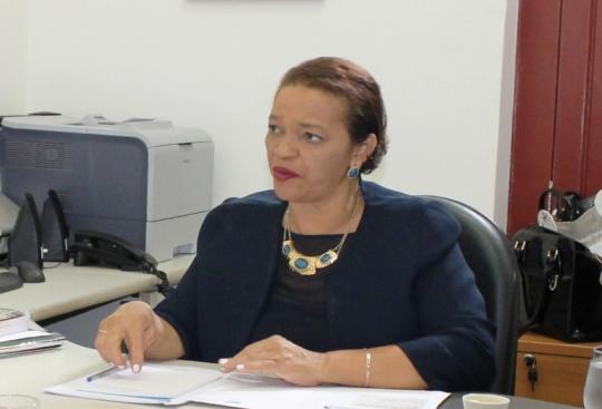 Juíza Oriana Gomes, auxiliar da CGJ