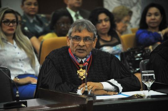 O desembargador Ribamar Castro frisou que a contratação emergencial não se deu de forma deliberada (Foto: Ribamar Pinheiro)