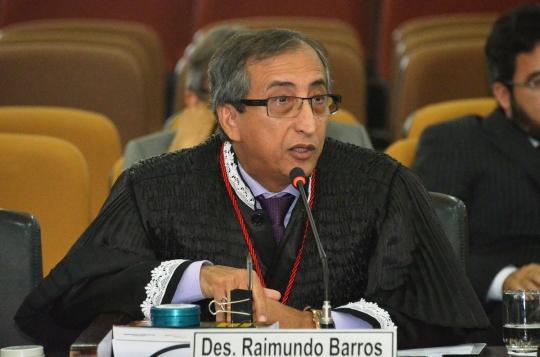 O desembargador Raimundo Barros (relator) entende que houve viola��o ao princ�pio da legalidade