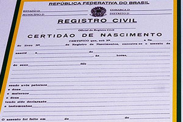 Resultado de imagem para registro de nascimento