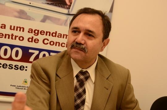 Juiz Alexandre Abreu falou aos acad�micos de Direito sobre a concilia��o no Novo C�digo de Processo Civil