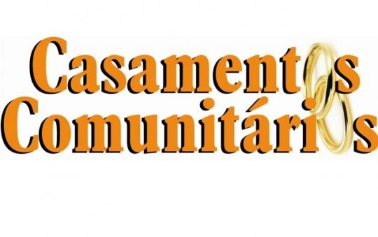 Imagem: logo projeto casamentos comunitários