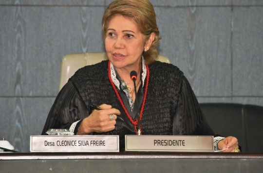 A desembargadora Cleonice Freire assumiu o cargo na última sexta-feira (Foto: Ribamar Pinheiro)
