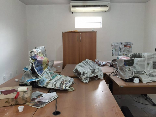 Sala de audiências em Arari