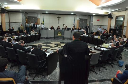 Os ju�zes foram escolhidos em sess�o plen�ria do TJMA (Foto: Ribamar Pinheiro)