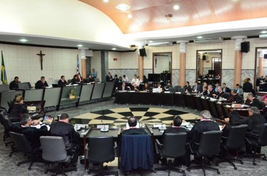 Plenário do TJMA (Foto: Ribamar Pinheiro - arquivo)