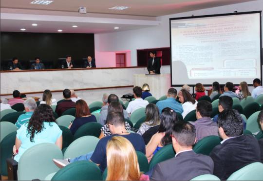 Cartorários de todo o Maranhão presentes durante o lançamento da Central Única de Cartórios. (Foto: Eduardo Coelho).