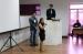 Mirella Rosa, da ANOREG-MA, discursa ao lado do presidente da ATC-MA, Thiago Estrela durante o II Ciclo de Debates. (Foto: Eduardo Coelho).