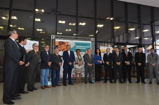 O evento foi aberto pelo presidente do TJMA, desembarador Cleones Cunha (Foto: Ribamar Pinheiro)