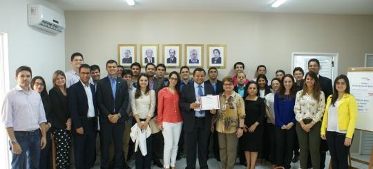 O curso foi conduzido pelo Prof� Dr� Marlon Reis, na sede da ESMAM