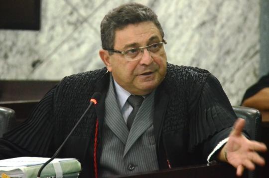 O desembargador Bayma Ara�jo foi o relator do processo (Foto: Ribamar Pinheiro)
