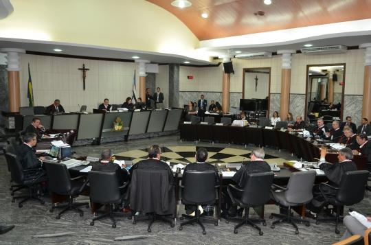 Vinte e dois processos em pauta para pleno desta quarta-feira (31). Foto: Ribamar Pinheiro/ Arquivo TJMA