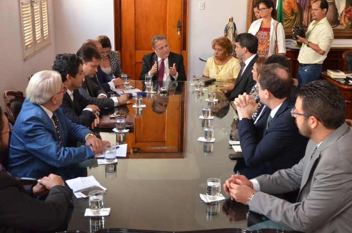 Presidente do TJMA fala sobre as ações tomadas pelo Judiciário nos últimos dias. (Foto: Ribamar Pinheiro/TJMA)