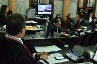 Sustentação oral à distância é realizada a primeira vez na sessão plenária. Foto: Ribamar Pinheiro/ TJMA
