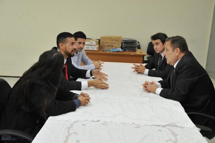 Presidente do TJMA faz visita à Comarca de Bacabal e reúne-se com juízes