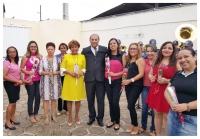 O juiz Eulálio Figueiredo, titular do Juizado Especial de Trânsito de São Luís, prestou homenagem às mulheres.