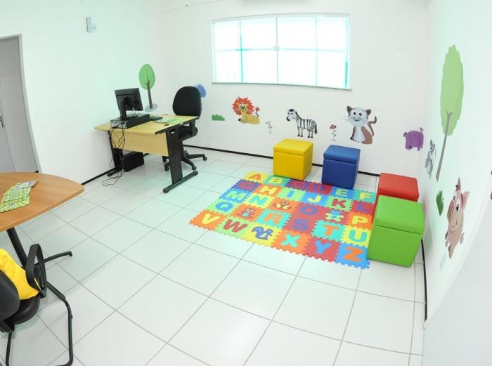 Sala de Depoimento Especial é preparada especialmente para crianças e adolescentes. Foto: Ribamar Pinheiro/ Arquivo TJMA