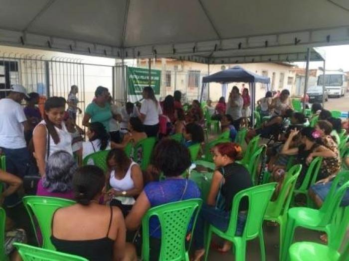 Ação Social na comarca de Arari.