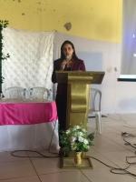 Juíza Raquel Menezes profere palestra sobre Violência Doméstica.