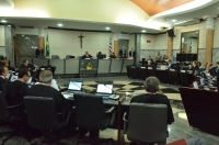 O sorteio foi realizado durante a sessão plenária desta quarta (15). (Foto: Ribamar Pinheiro)