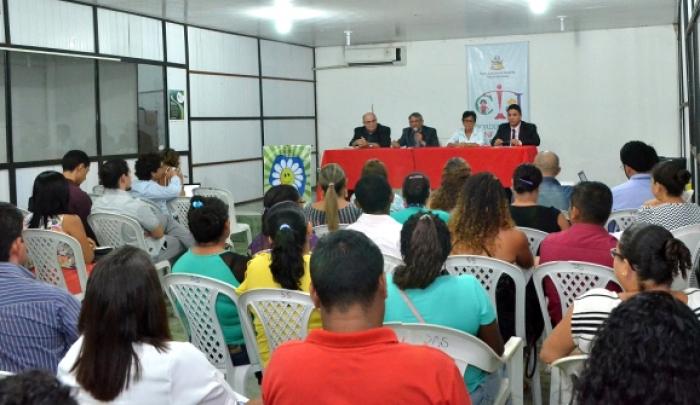 Evento discute Infância e Juventude em Cururupu. (Fotos: Ribamar Pinheiro)