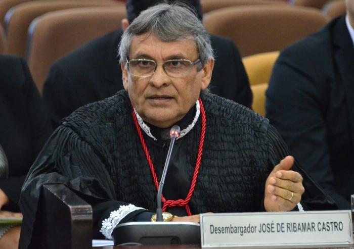 O desembargador da 5ª Câmara Cível, José de Ribamar Castro, foi o relator do agravo. (Foto: Ribamar Pinheiro)