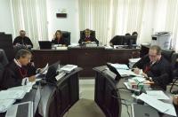 Desembargadores da 5ª Câmara seguiram voto do relator Raimundo Barros. Foto: Ribamar Pinheiro/ Arquivo TJMA