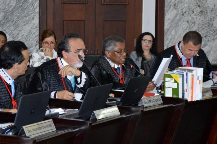 O desembargador Bernardo Rodrigues foi o relator do processo (Foto: Asscom TJMA)