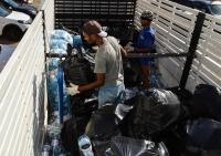 Mais de uma tonelada e meia de material reciclado é recolhida pelo TJMA. Foto: Asscom TJMA