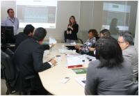 Corregedora Anildes Cruz conhece o relatório com os resultados do trabalho da Comissão Sentenciante Itinerante.