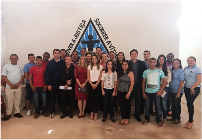 Acadêmicos do curso de Direito conhecem trabalho da APAC de Itapecuru.