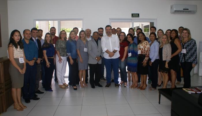 Juízes vitalícos e vitaliciandos participaram da formação realizada na sede da Esmam