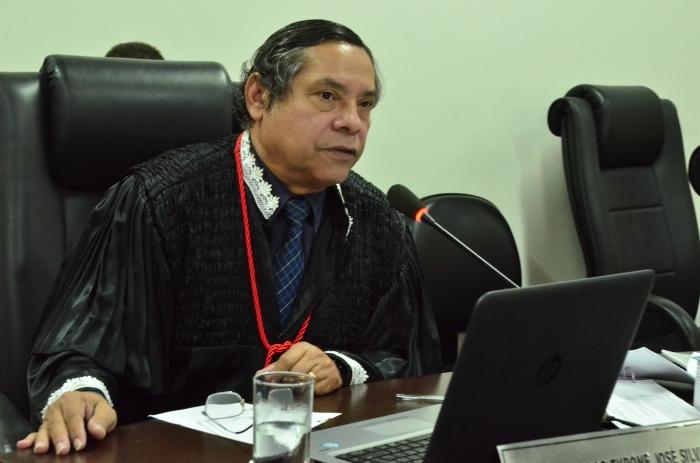 O desembargador Tyrone Silva representou a Esmam no seminário (Foto: Ribamar Pinheiro)