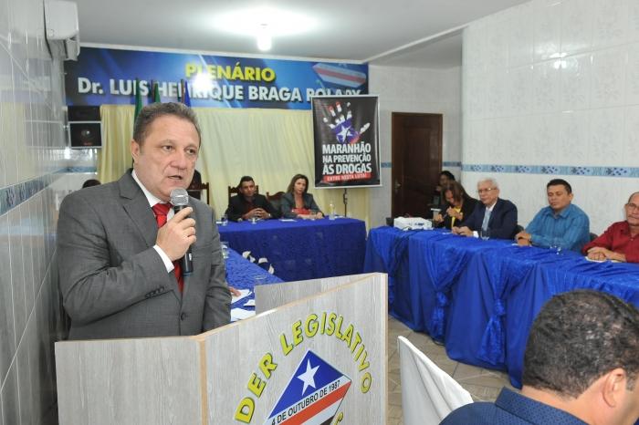 O desembargador Cleones Cunha disse que o problema das drogas merece uma reflexão da sociedade (Foto: Ribamar Pinheiro)